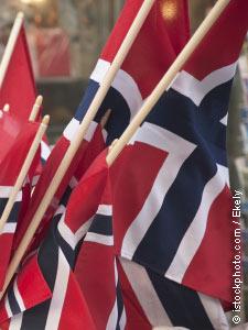 Norway flags