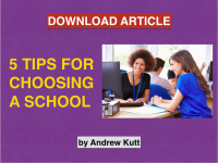 5 Tips for Choosing the Right School